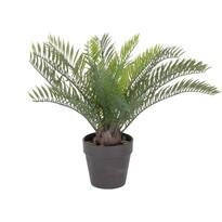 Mű pálma virágtartóban, 30 cm