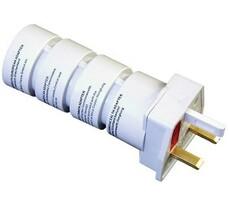 Solight PA21 Cestovní adaptér, bílá