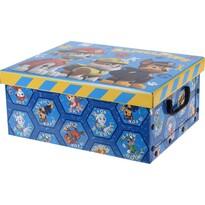 Paw Patrol tároló doboz 37 x 31 x 16 cm