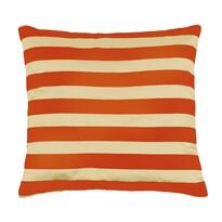 Poduszka jasiek Leona paski pomarańczowy, 45 x 45 cm