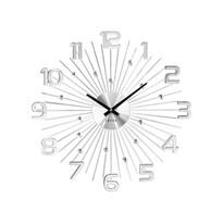 Nástenné hodiny Lavvu Crystal Sun LCT1150 strieborná, pr. 49 cm