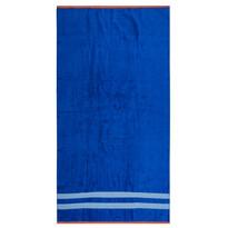 Ręcznik plażowy Blossom niebieski, 90 x 170 cm