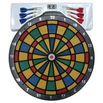Joc darts soft -  6 săgeți cu vârfuri de plastic