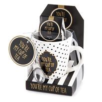 Darčeková sada hrnček s nápojom My cup of tea, 320 ml