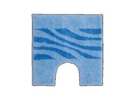Dywanik na WC Grund THUNI, niebieski, 55 x 55 cm