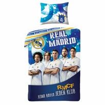 Pościel bawełniana Real Madrid 5019, 140 x 200 cm, 70 x 90 cm