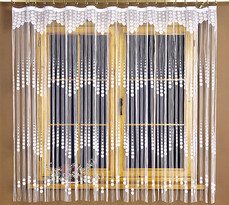 4Home Motúzková záclona Evita, 90 x 180 cm