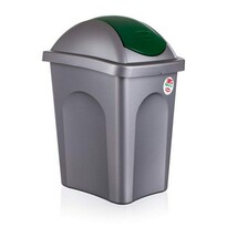 Multipat odpadkový koš zelená
