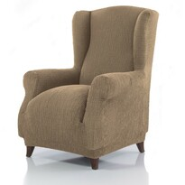 Pokrowiec multielastyczny na fotel uszak Cagliari ecru, 70 – 110 cm