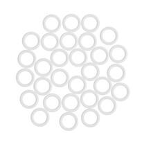 UH kółka bez haczyków, białe, 1,1 / 1,6 cm