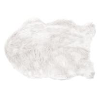 Kožešina Claire bílá, 60 x 90 cm