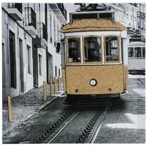 Obraz na plátně San Francisco, 39 x 39 cm
