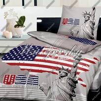 Matějovský bavlnené obliečky Liberty USA, 140 x 200 cm, 70 x 90 cm