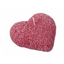 Valentýnská svíčka Srdce, červená