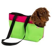 Transportní taška Boseň Prémium zeleno-malinová, 30 cm