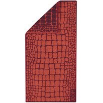 JOOP! Ręcznik kąpielowy Gala Croco Mohn, 80 x 200 cm