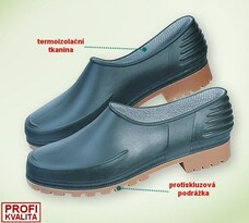 Záhradné topánky vel. 38