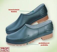 Zahradní obuv vel. 38