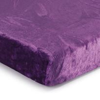 Prestieradlo Mikroplyš fialová, 90 x 200 cm