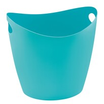 Koziol Úložný box Bottichelli modrá, 28 l