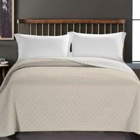 DecoKing Prehoz na posteľ Axel béžová, 220 x 240 cm