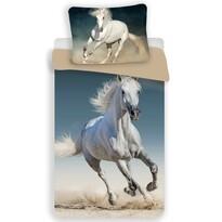 Bavlněné povlečení Horse 03, 140 x 200 cm, 70 x 90 cm