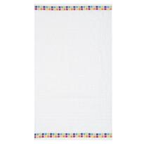 Ręcznik kąpielowy Mozaik biały