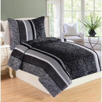 Lenjerie de pat Baroco, din micro-pluș, 140 x 200 cm, 70 x 90 cm