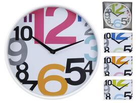 Nástěnné hodiny HIP, pr. 30 cm