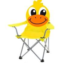 Scaun pliabil Duckie, pentru copii, galben