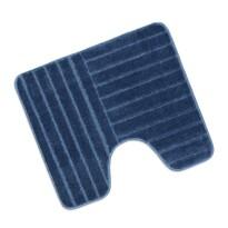 Kúpeľňová predložka Standard Modré pruhy WC, 60 x 50 cm