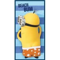 Ręcznik kąpielowy Minionki Beach Bum, 70 x 140 cm