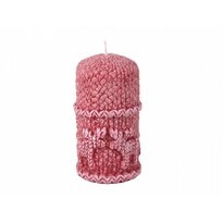 Stearínová sviečka Sob, červená