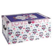 Pudełko Sówki, fioletowy