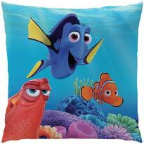 Vankúšik Hľadá sa Nemo - Dory a priatelia, 40 x 40 cm