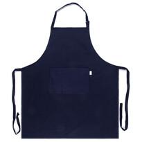 Fartuch kuchenny czarny, 70 x 80 cm