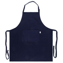 Kuchyňská zástěra tmavě modrá, 70 x 80 cm