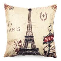Powłoczka na jasiek Paris Eiffel metro, 45 x 45 cm