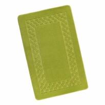 Dywanik łazienkowy Standard Ramka zielony, 60 x 100 cm