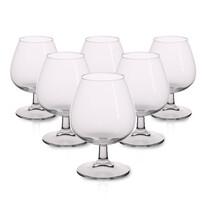 6-dielna sada pohárov na koňak Brylant, 370 ml