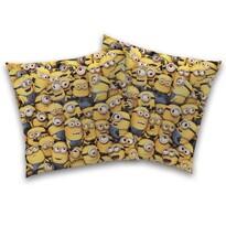 Poduszka-jasiek Family Minionków, 40 x 40 cm