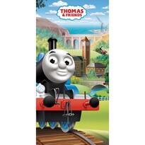 Thomas a gőzmozdony fürdőlepedő, 70 x 140 cm