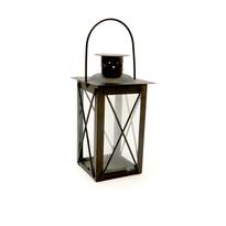 Mini latarnia 14 cm, czarna