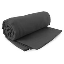 DecoKing Fitness Ręcznik Ekea szary