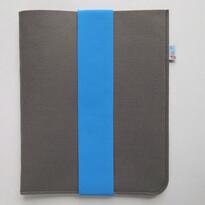Puzdro na tablet s modrou gumičkou