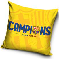 Vankúšik FC Barcelona Campions, 40 x 40 cm