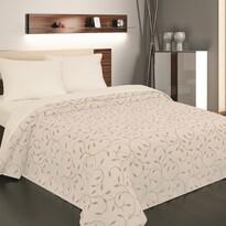 Přehoz na postel Indiana béžová, 140 x 220 cm