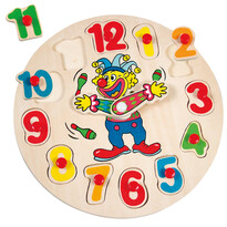 Bino Puzzle Klaun Otto hodiny