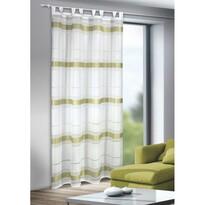 Záclona s pútkami Mandy zelená, 135 x 245 cm