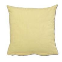 Poszewka z kory na poduszkę żółty